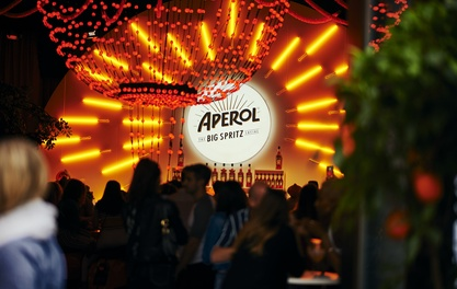 Join the dizzy Aperol Spritz revolution at the Oast House