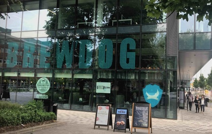 Brewdog Outpost rolls into University Green – with its own micro brewery
