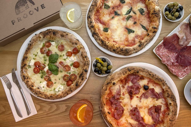 Share the Italian joy of Christmas with a classic pizza at Proove, West Didsbury