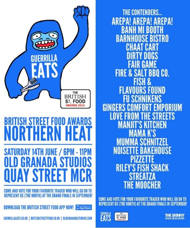 British Street Food Awards Final Manchester