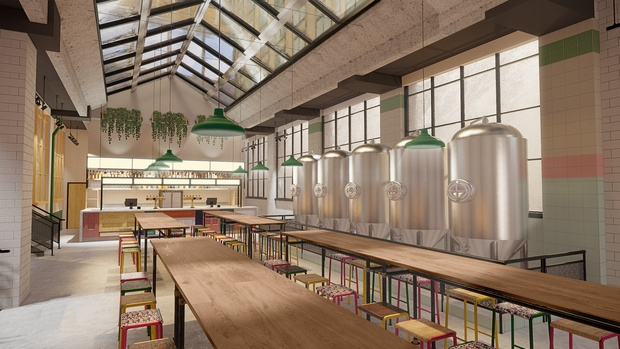This is what the new Bundobust and its inaugural brewery will look like