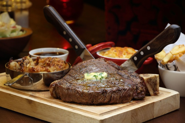 Restaurant review manchester 39 s new steak house miller and for Mitchell s fish market birmingham