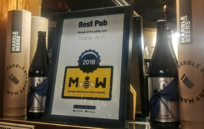 Cheers to all the winners in the Manchester Beer Week Awards