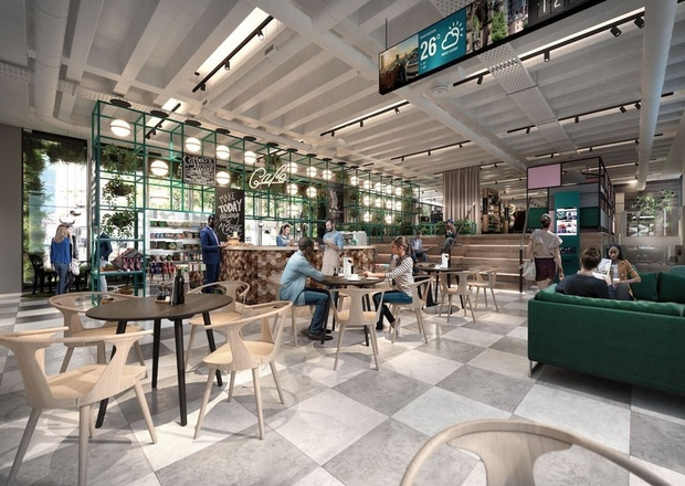 ANCOATS COFFEE CO TO OPEN IN BRUNTWOOD WORKS' 111 PICCADILLY