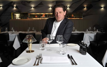 Meet and dine with Marco Pierre White at his English Chophouse