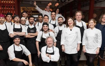 £21,000 raised to fight famine by Iberica Too Many Critics Dinner