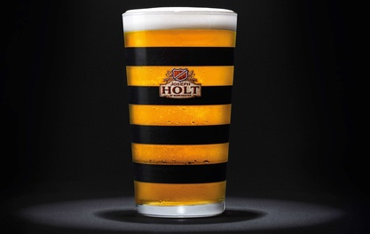 HOP TO IT AS HOLT'S PUT THE BEE INTO THEIR BEER GLASS