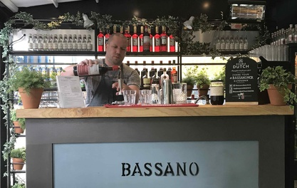 Grappa fest on First Street as Bassano brings Italian cocktails to Pizza Express