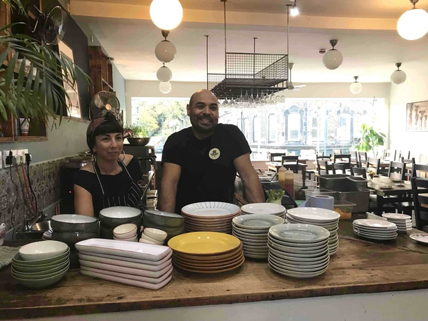 Yakumama duo chase a permanent home – with a pop-up vegan agenda