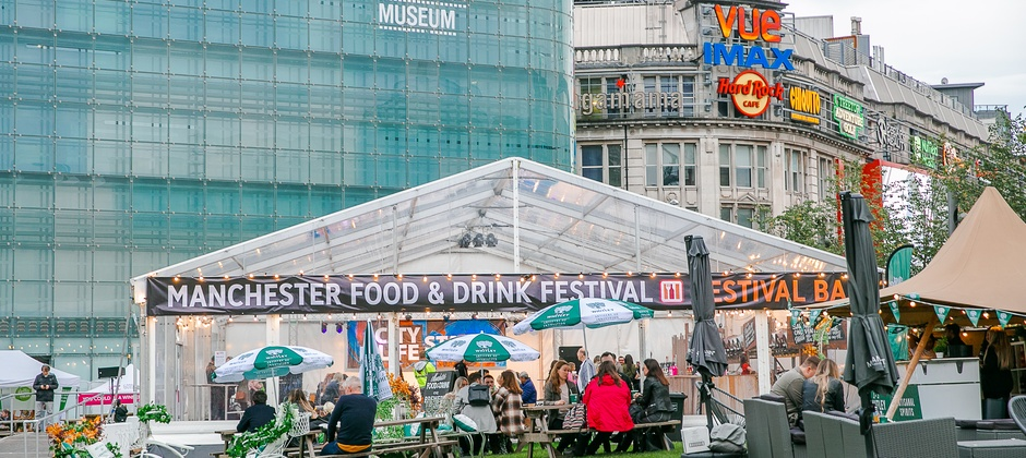 MANCHESTER FOOD AND DRINK FESTIVAL ANNOUNCES 2020 DATES AND NEW FORMAT AND JUST EAT AS HEADLINE SPONSOR