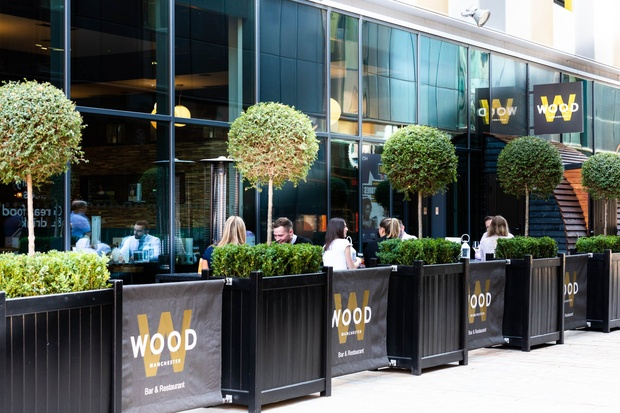 Video: Matty White takes to the terrace to sample Simon Wood's more casual menu