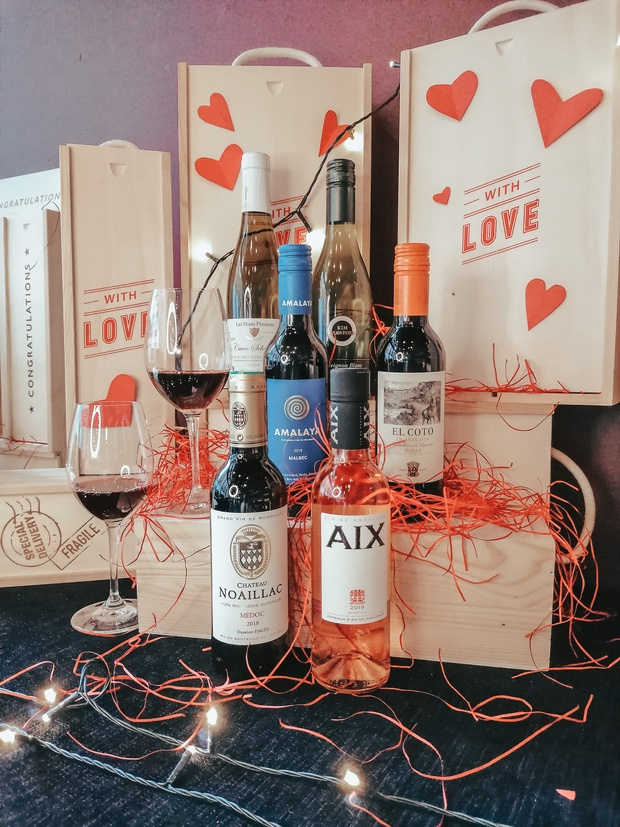 Salut launch virtual Valentine's wine tasting for singles