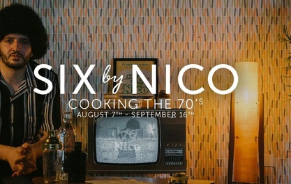 GROUNDBREAKING SIX BY NICO TO BRING ITS 'EVOLVING MENUS' TO MANCHESTER