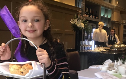 Tea is served – a child's afternoon to remember at The Midland
