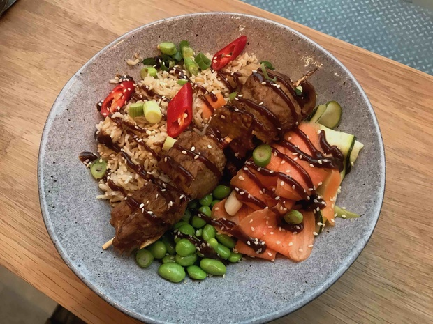 Veganuary: seitan versus chicken and the skewer fire winner is…
