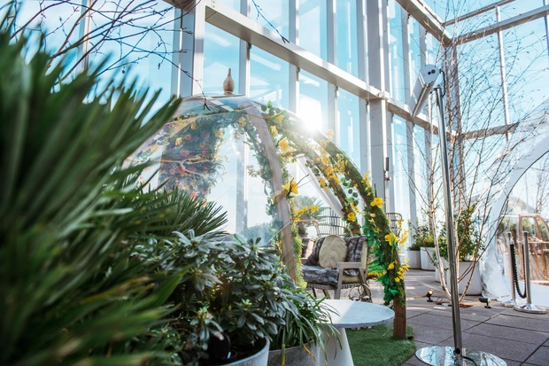 20 STORIES WELCOMES SUMMER WITH A STUNNING TROPICAL GARDEN