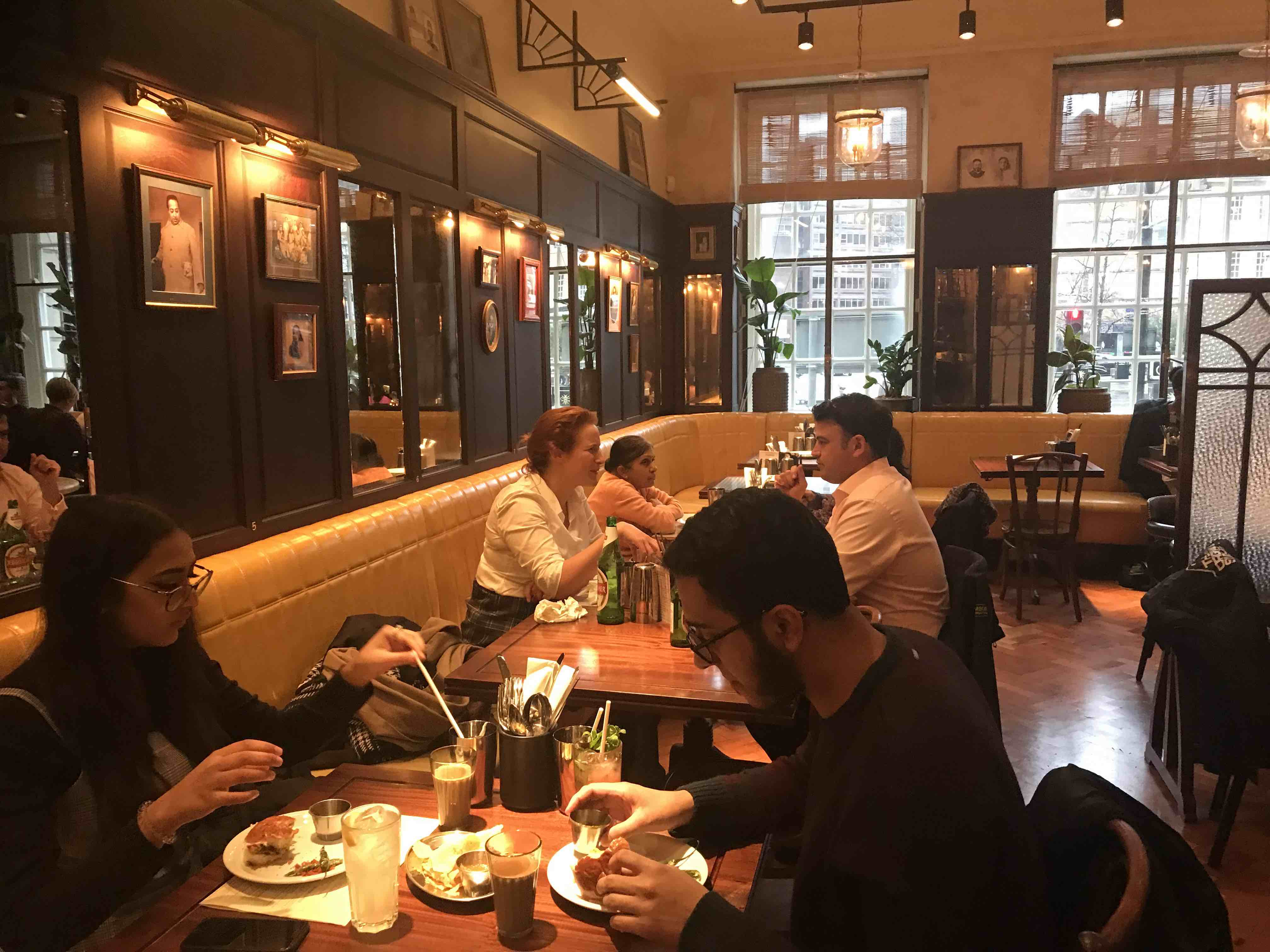 Review Dishoom Manchester Hall Reviews Taste Of Manchester
